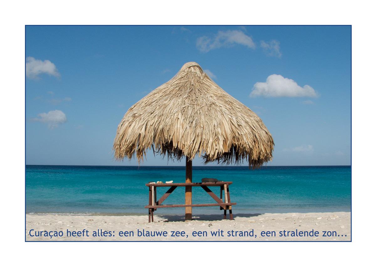 Postcard from Curacao 2003 // Beach