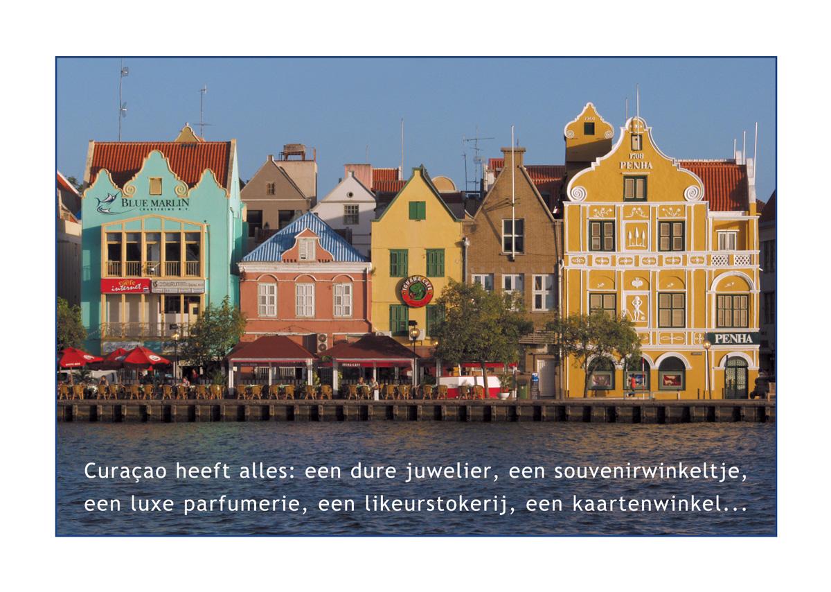 Postcard from Curacao 2003 // Handelskade