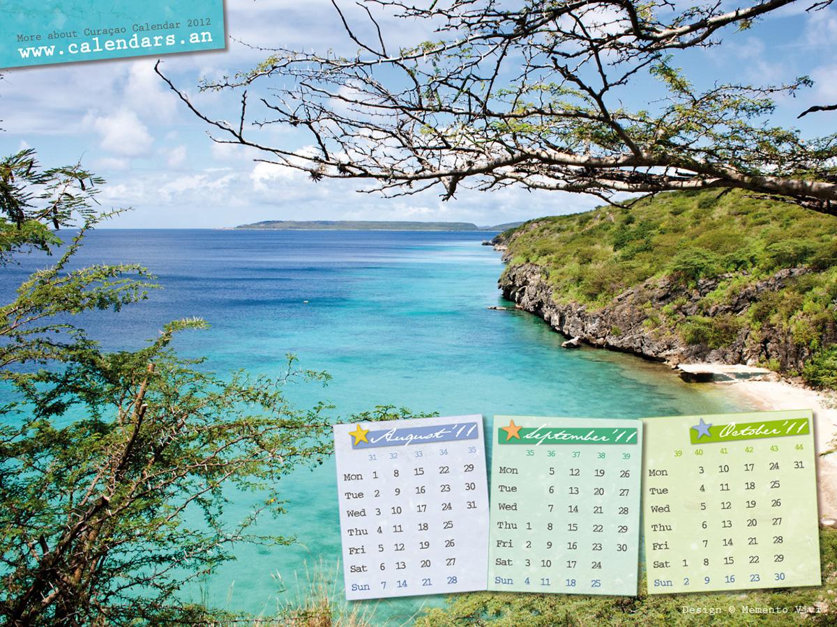 Vaersenbaai Curaçao with Calendar 2011