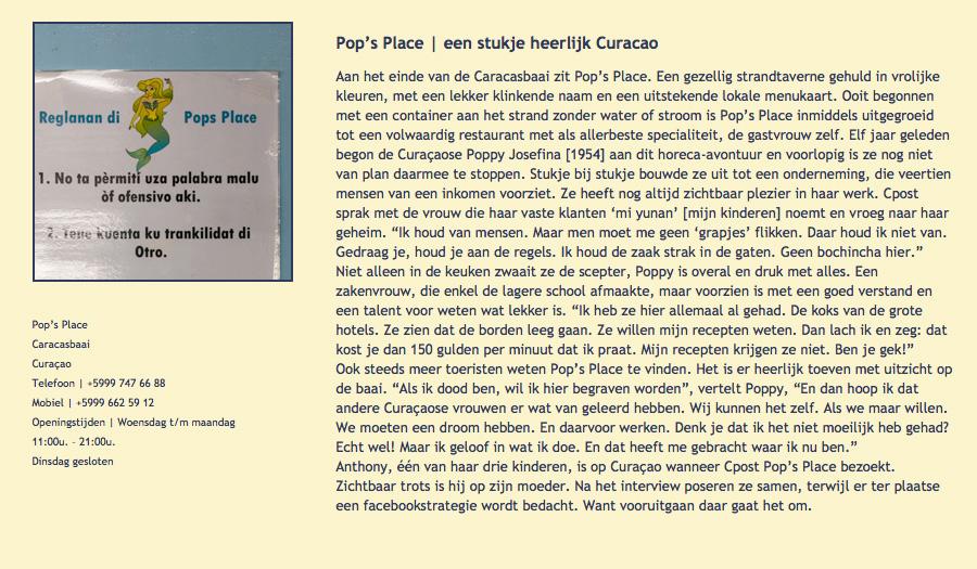 Pop's Place page 7a