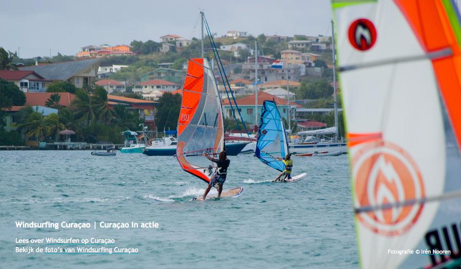 windsurfing on Curaçao page 13