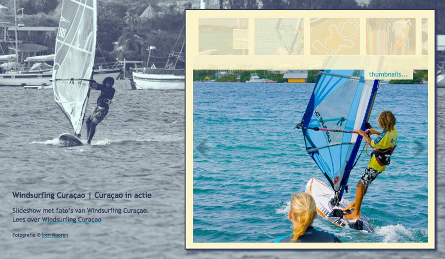 windsurfing on Curaçao page 13b