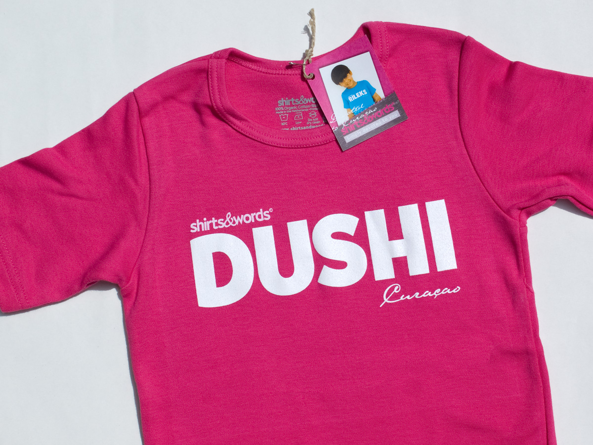 2010 Dushi Pink kid shirt