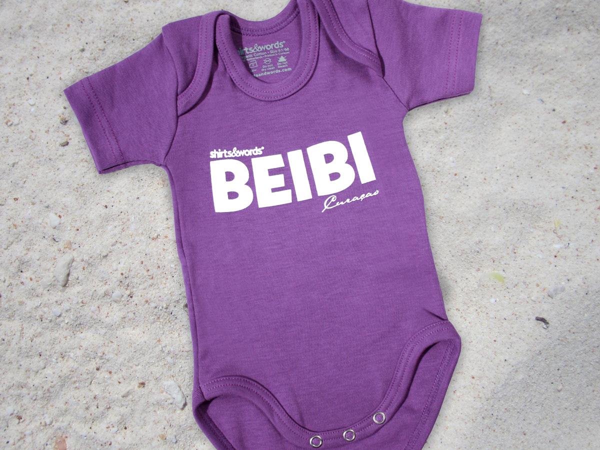 2010 baby onesie lilac beibi