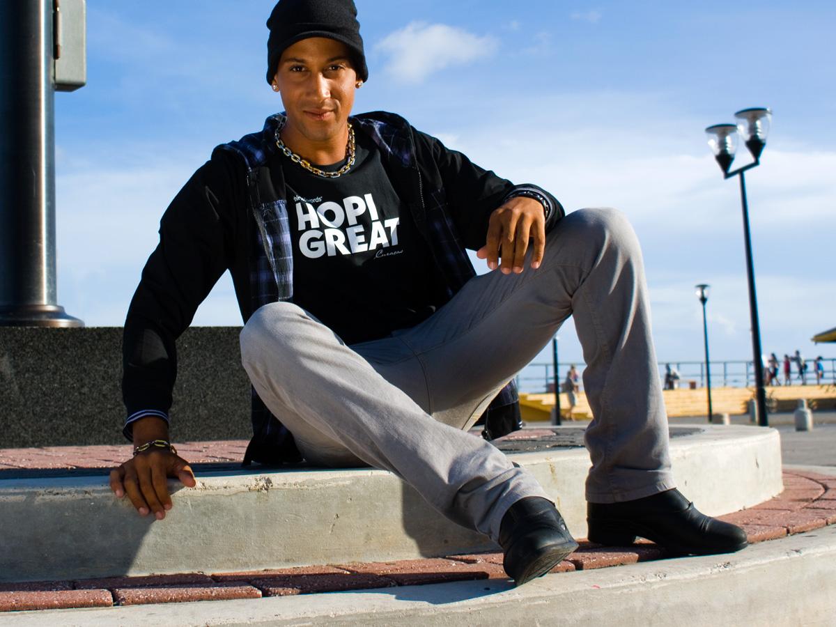 hopi great black T-shirt