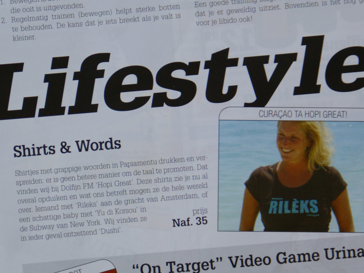 Article in DolfijnFM magazine