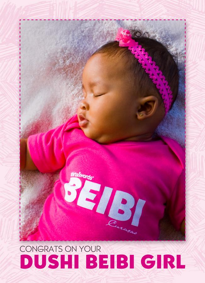 Postcard beibi girl