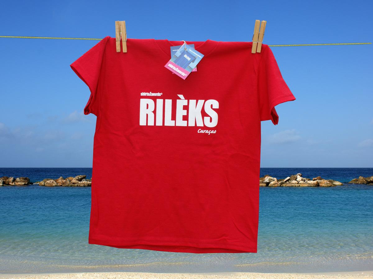 rileks shirt red