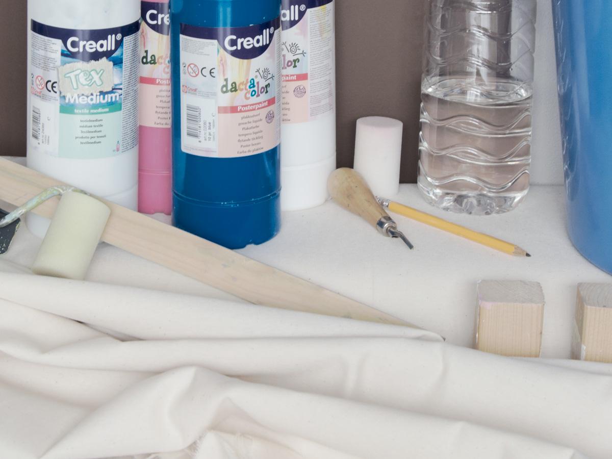 materials, paint, fabric