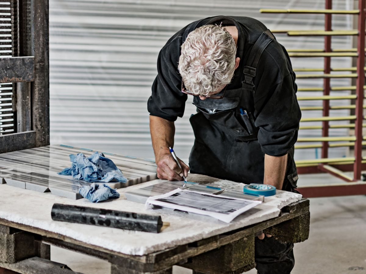 stone craftsman writing