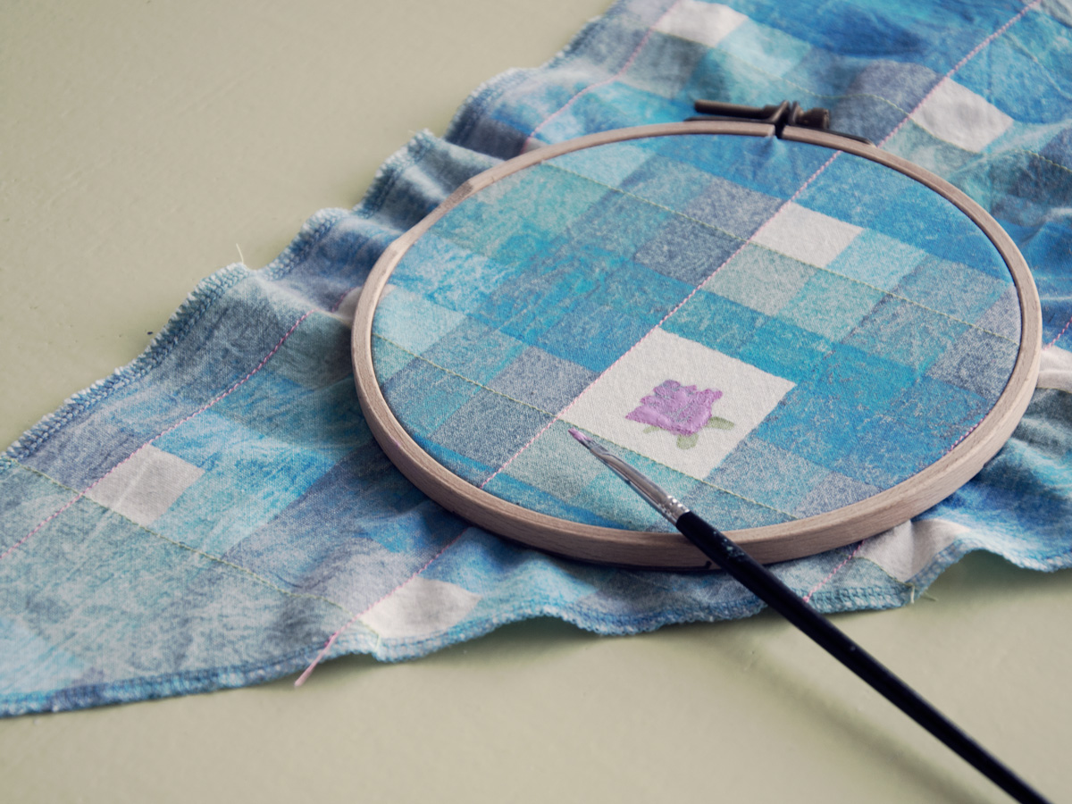 Textile painting