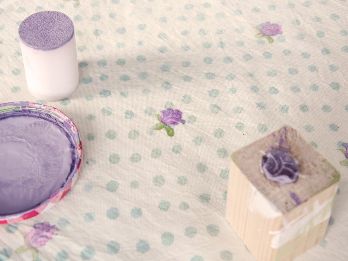 Textile stamping