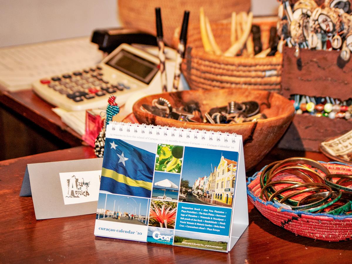 Curacao Calendar 2010 at Art of Africa Shop