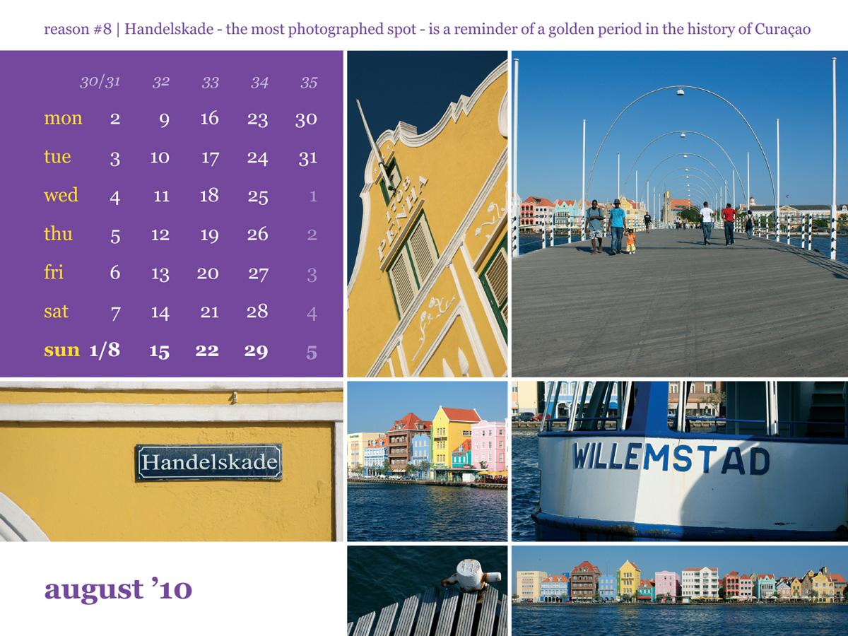 Calendar 2010 August Punda