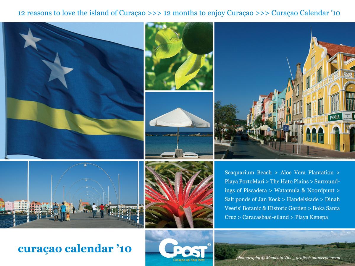 Curacao Calendar 2010 frontpage