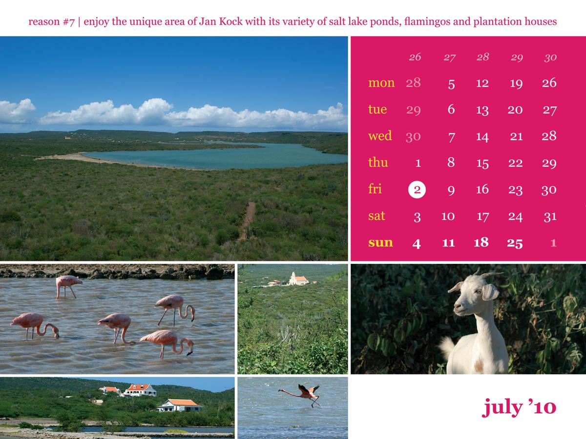 Calendar 2010 July Jan Kock