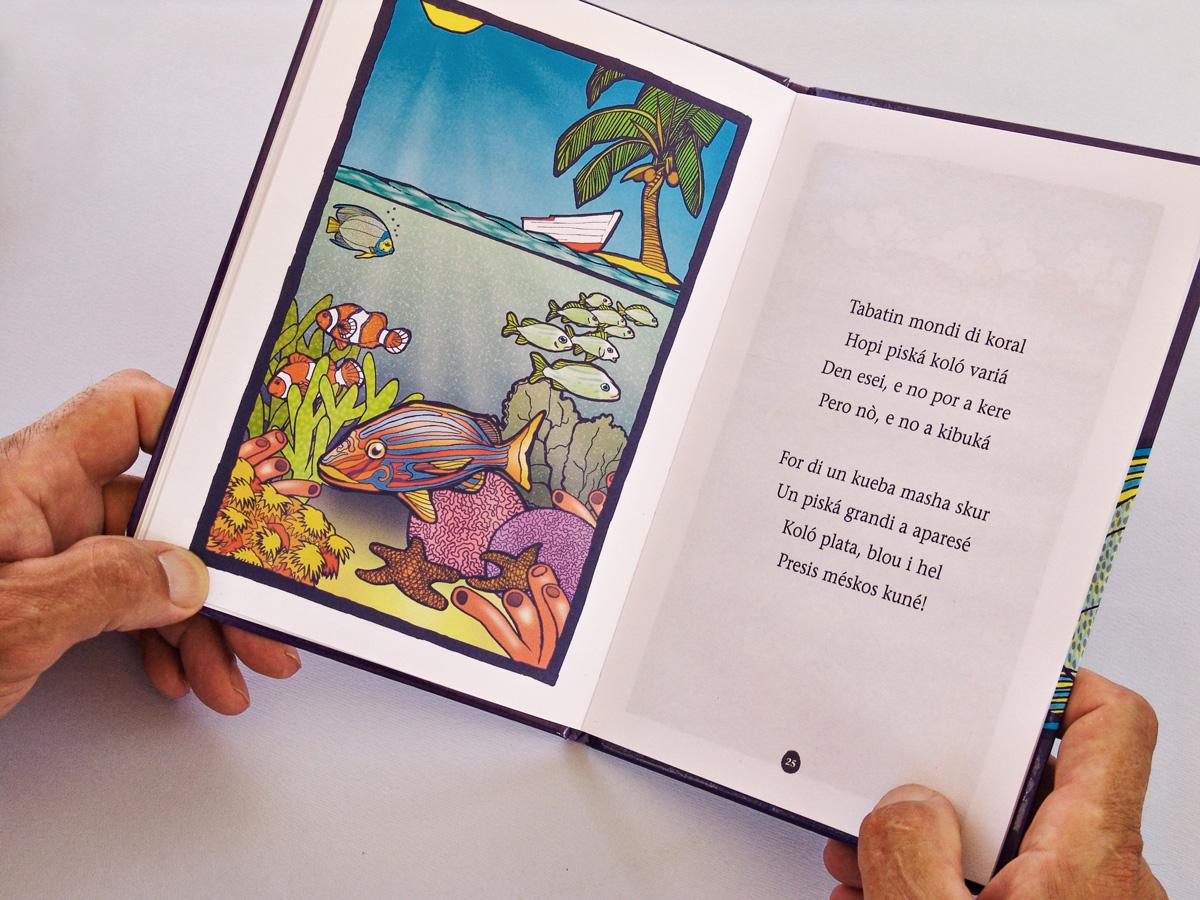 Illustrated children book piskechi