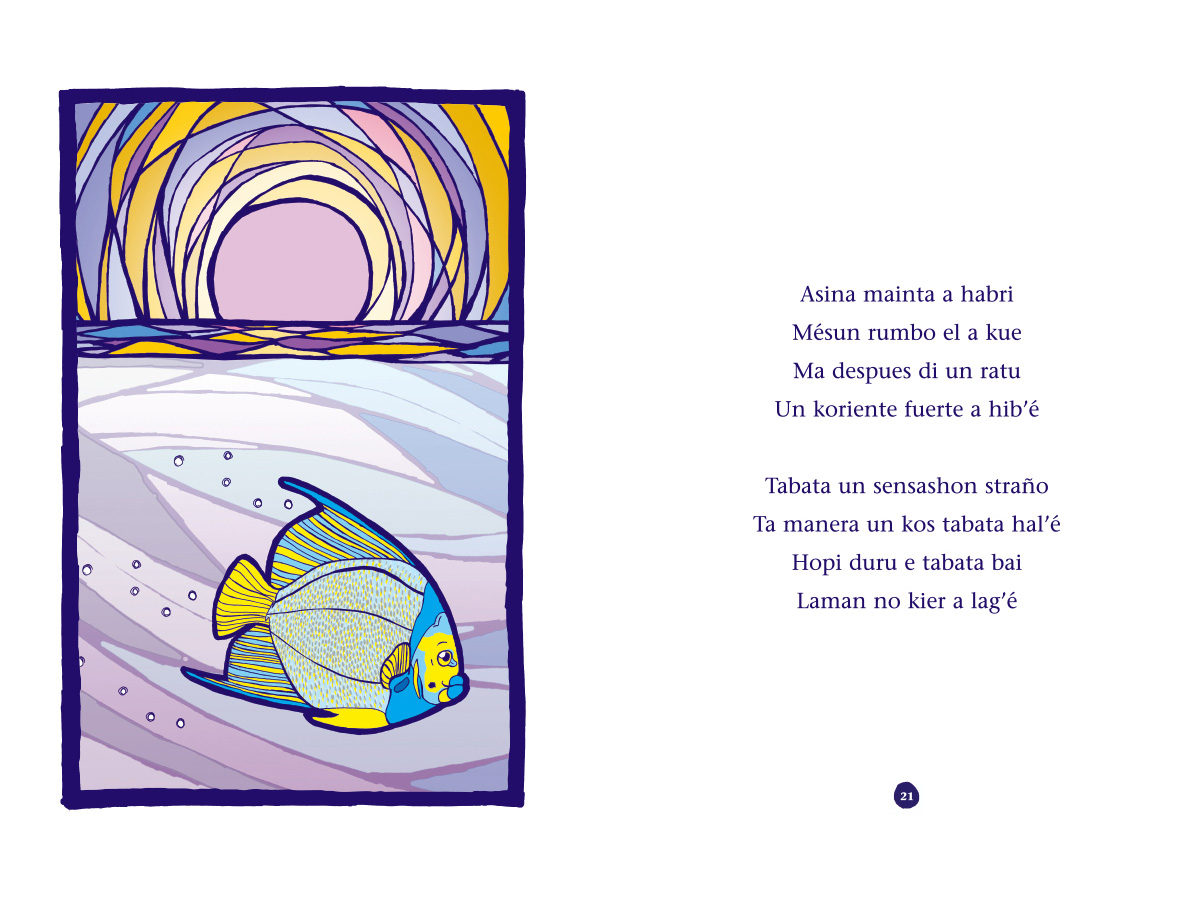 Picture book Piskechi pages 20 and 21