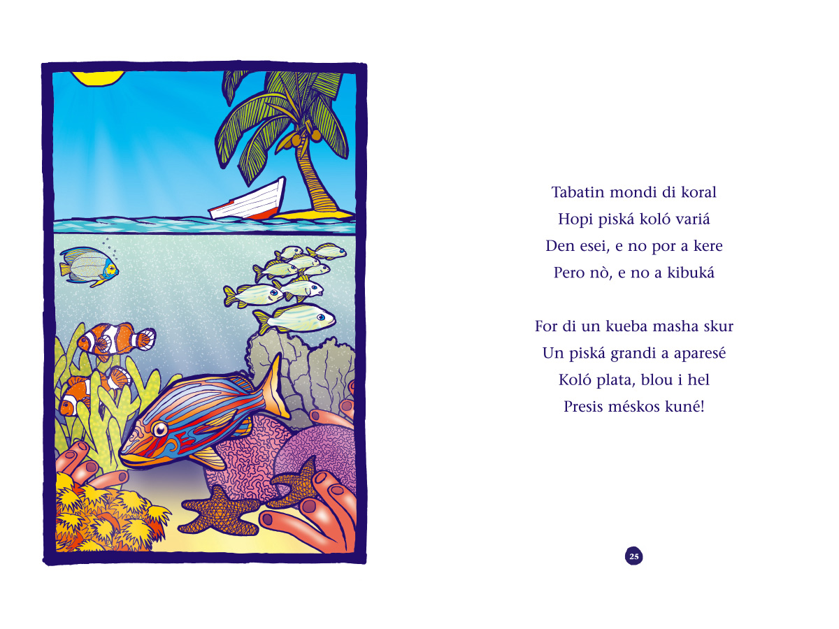 Picture book Piskechi pages 24 and 25
