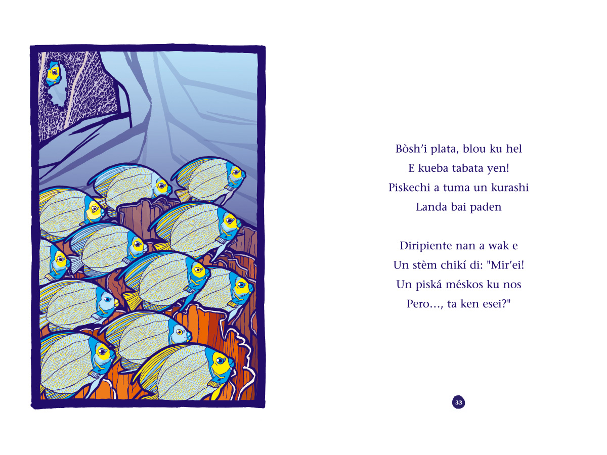 Picture book Piskechi pages 32 and 33