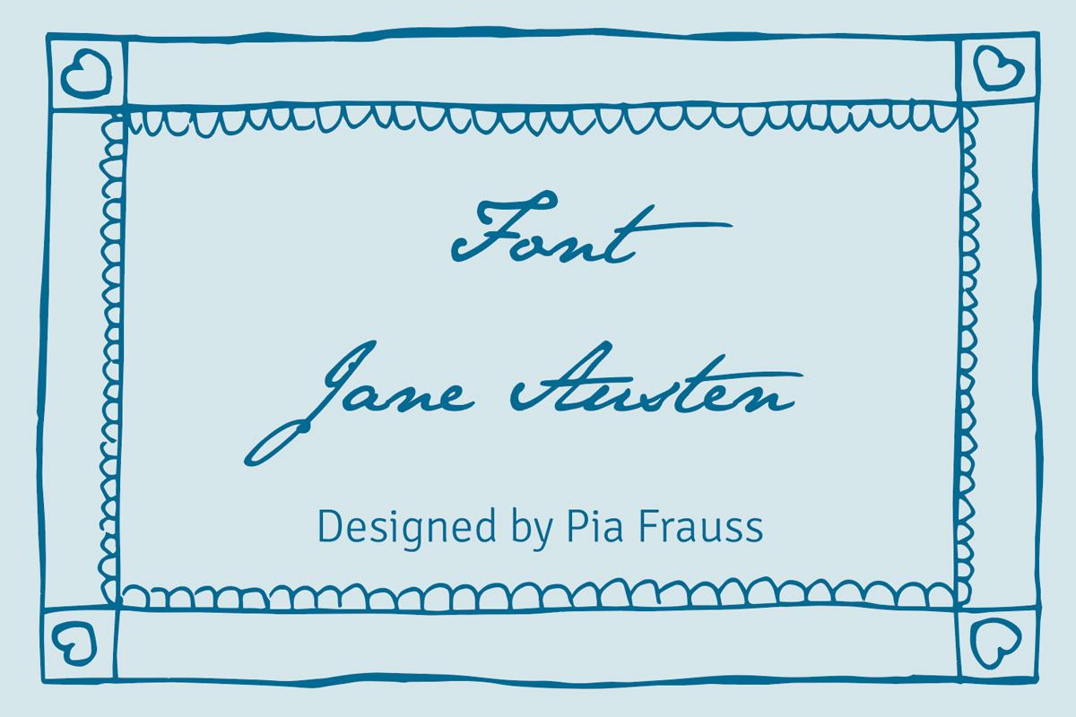 Font Jane Austen