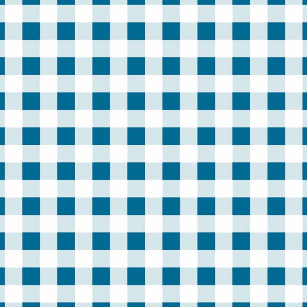 pattern checks blue