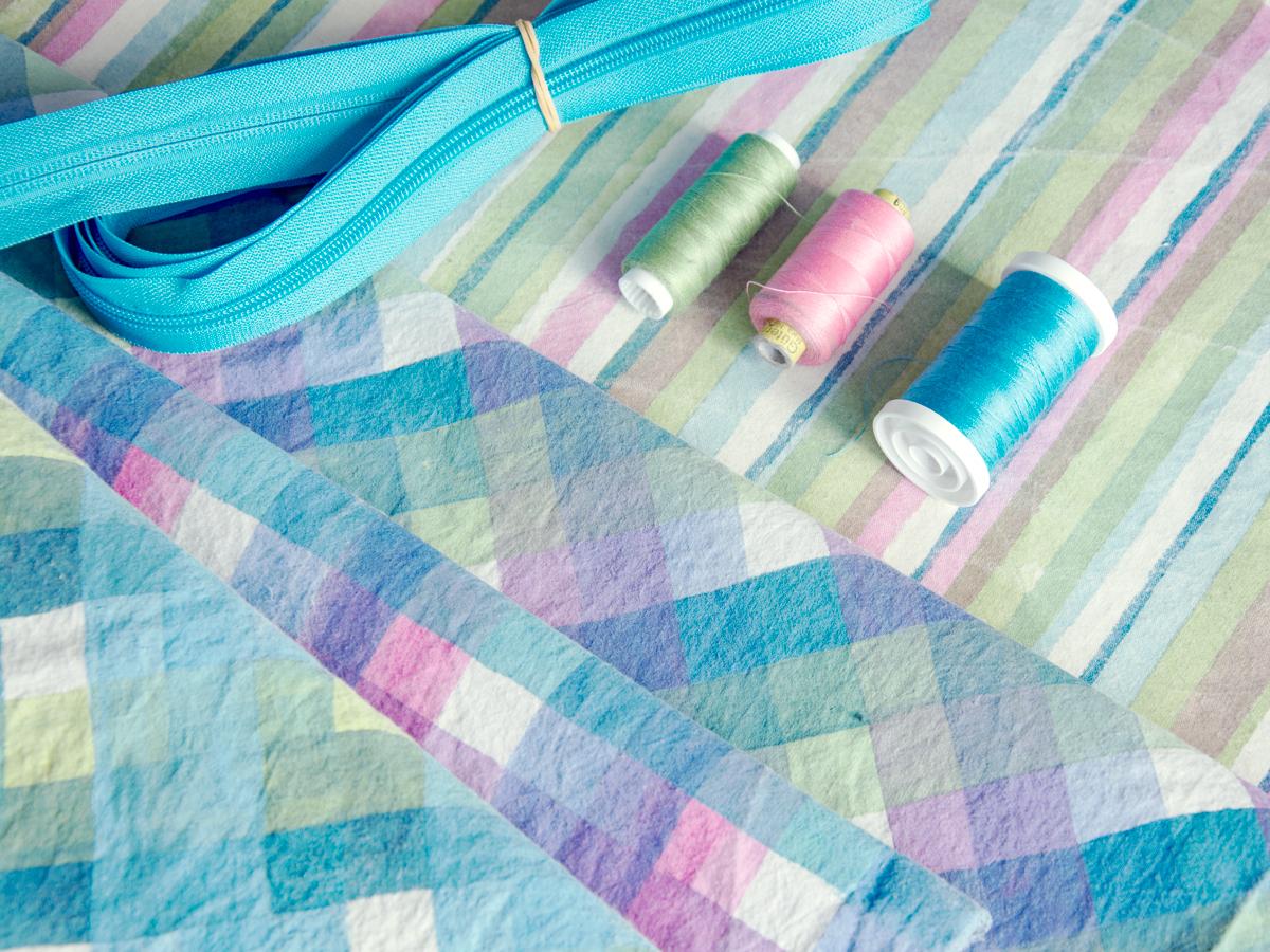 Choosing thread colours