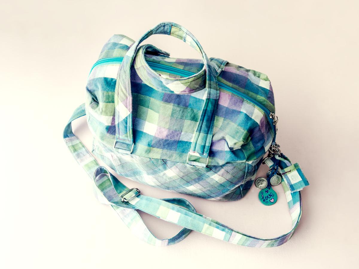 handmade and handpaintedbag