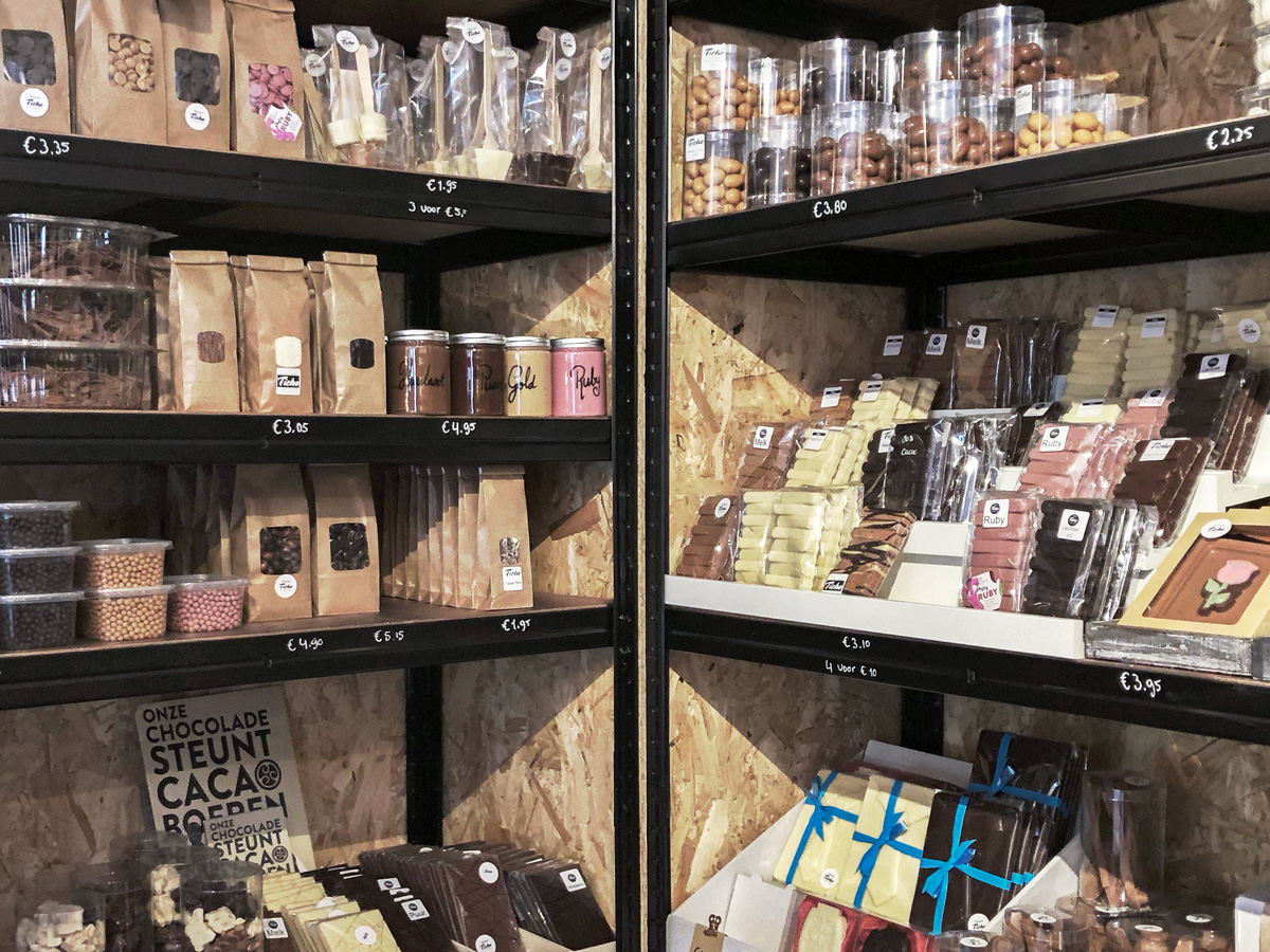 Ticho Chocolaterie gift shop
