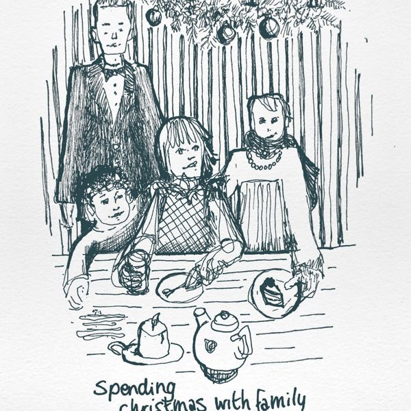 Spending holidays with family