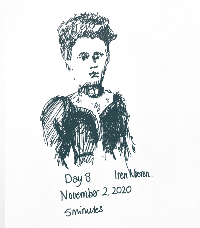 Pendrawing Great-grandmother-20201102
