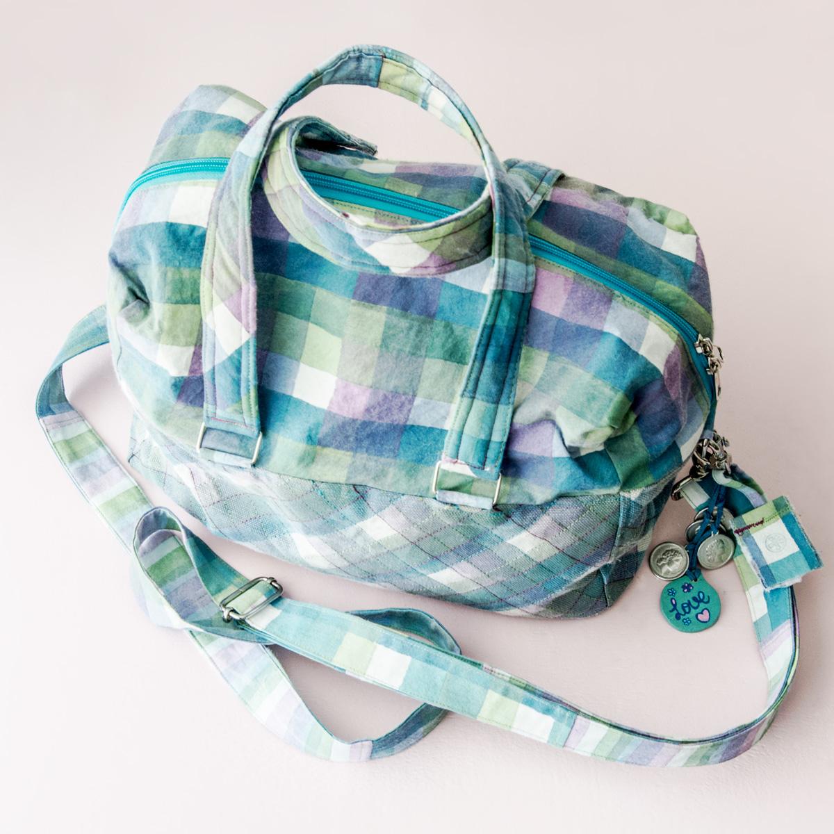 Handmade iPad bag